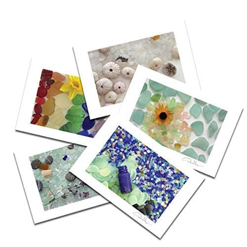 Sea Glass Variety Postcard Prints