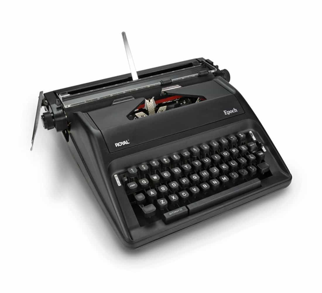 Royal Epoch Portable Manual Typewriter