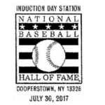 Pictorial Postmark National Baseball Hall of Fame Induction Day 2017