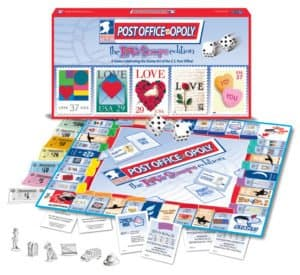POST OFFICE-OPOLY LOVE STAMPS EDITION open view