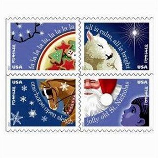 USPS 2017 Christmas Carols Forever Stamps