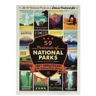100th Anniversary National Parks Postcard Set